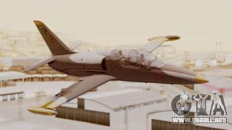 Aero L39 ZA Albatros - Nr. 146 (Romania) para GTA San Andreas vista hacia atrás