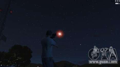 GTA 5 Laser Rocket Mod V5 quinta captura de pantalla