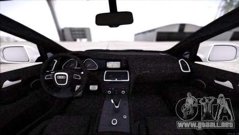 Audi Q7 2008 para vista lateral GTA San Andreas
