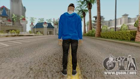 H2O Delirious Skin para GTA San Andreas tercera pantalla
