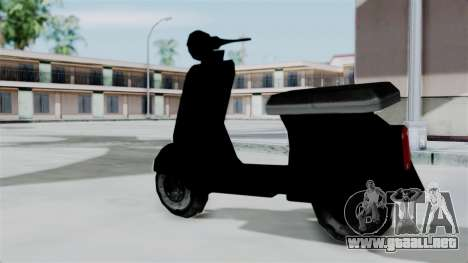 Scooter from Bully para GTA San Andreas left