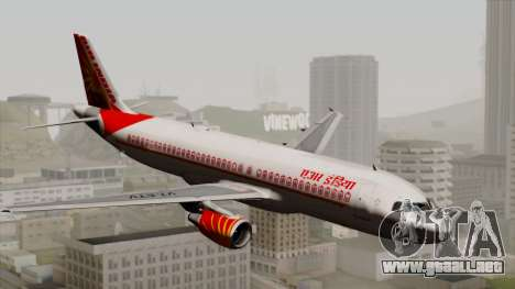 Airbus A320-200 Air India para GTA San Andreas