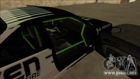 Nissan 200SX Drift Monster Energy Falken para vista inferior GTA San Andreas