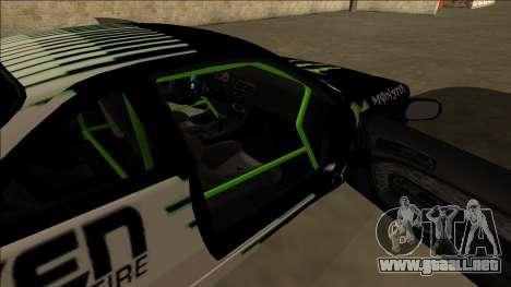 Nissan 200SX Drift Monster Energy Falken para vista inferior GTA San Andreas