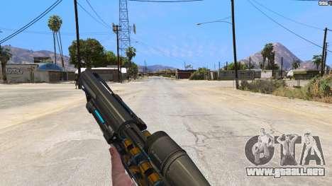 GTA 5 M2014 Gauss Rifle из Crysis 2 tercera captura de pantalla