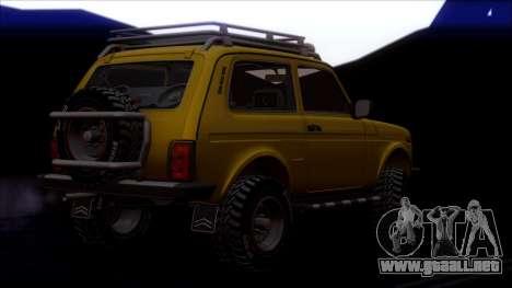 VAZ 2121 Niva Offroad para las ruedas de GTA San Andreas
