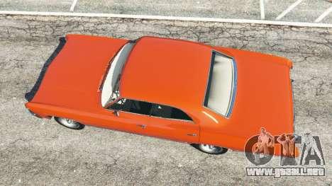 GTA 5 Chevrolet Impala 1967 vista trasera
