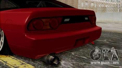 Nissan Silvia Odyvia para GTA San Andreas vista hacia atrás