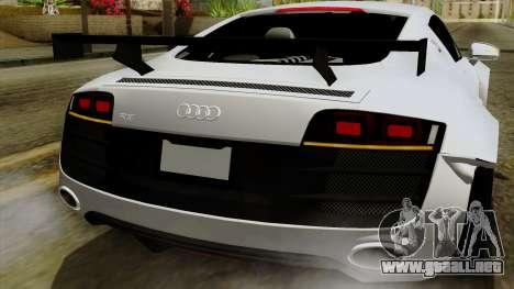 Audi R8 v1.0 Edition Liberty Walk para el motor de GTA San Andreas