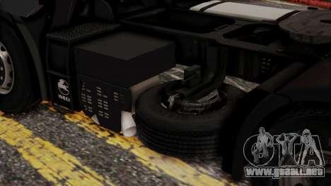 Iveco EuroStar Normal Cab para la visión correcta GTA San Andreas