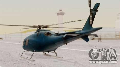 AW-119 Koala para GTA San Andreas left
