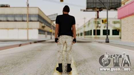 Skin DLC Ultimo Equipo En Pie para GTA San Andreas tercera pantalla