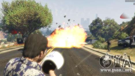 GTA 5 Cinematic Explosion FX 1.12a cuarto captura de pantalla