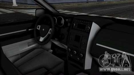 Dodge Grand Caravan 2010 para la visión correcta GTA San Andreas