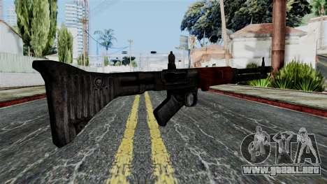 FG-42 from Battlefield 1942 para GTA San Andreas segunda pantalla