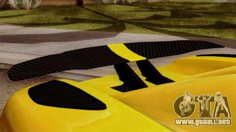 Koenigsegg Agera R 2014 para la visión correcta GTA San Andreas
