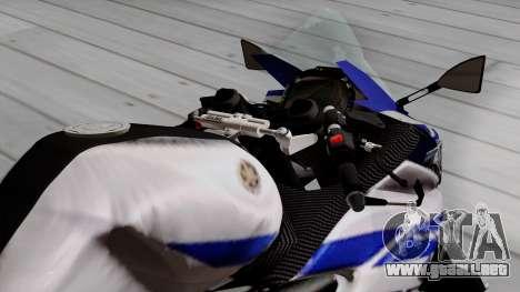 Yamaha YZF R-25 GP Edition 2014 para GTA San Andreas vista hacia atrás