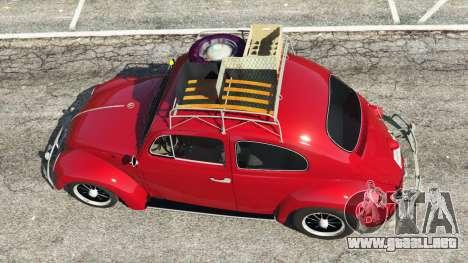 Volkswagen Beetle 1963 [Beta] para GTA 5