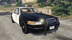 Ford Crown Victoria 1999 Police v1.0 para GTA 5