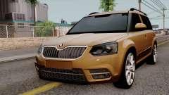 Skoda Yeti 2014 para GTA San Andreas