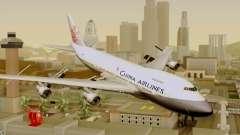 Boeing 747-200 China Airline para GTA San Andreas
