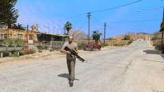 M2014 Gauss Rifle из Crysis 2 para GTA 5