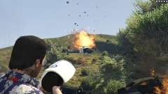 Cinematic Explosion FX 1.12a para GTA 5