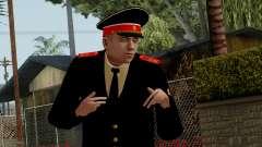 Vice-Sargento Kazan AVC v2 para GTA San Andreas