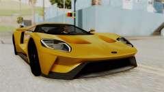 Ford GT 2016 Black Revel para GTA San Andreas