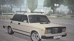 VAZ 2107 sedán para GTA San Andreas