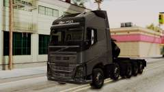 Volvo FH Euro 6 10x4 Exclusive High Cab para GTA San Andreas
