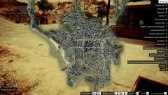 Mapa satélite de 4K para GTA 5