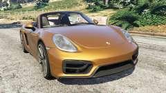 Porsche Boxster GTS para GTA 5