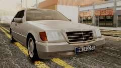 Mercedes-Benz W140 400SE 1992 para GTA San Andreas