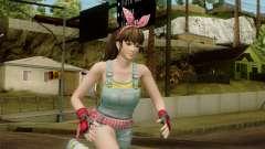 Dead Or Alive 5 Hitomi Overalls para GTA San Andreas