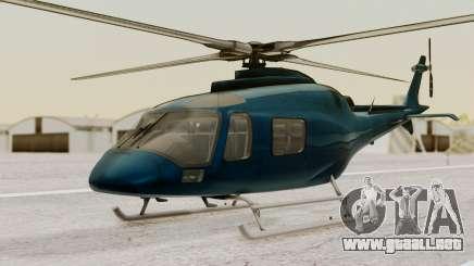 AW-119 Koala para GTA San Andreas