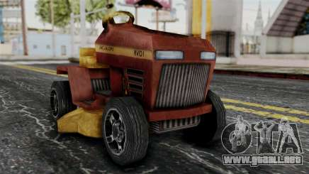 Mower from Bully para GTA San Andreas