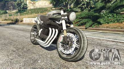 Honda CB 1800 Cafe Racer with Stickers para GTA 5