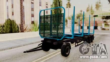 Wood Transport Trailer from ETS 2 para GTA San Andreas