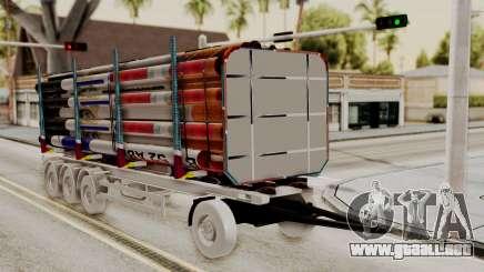 Timber Trailer from ETS 2 para GTA San Andreas