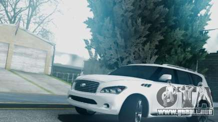 Infiniti QX56 Final para GTA San Andreas