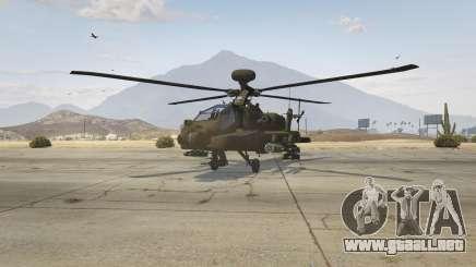 AH-64D Longbow Apache para GTA 5