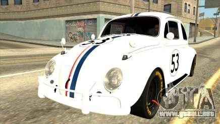 Volkswagen Beetle Herbie Fully Loaded para GTA San Andreas