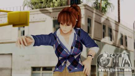 DOA 5 Kasumi Blue Sweater para GTA San Andreas