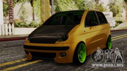 Daewoo Matiz Tuning para GTA San Andreas