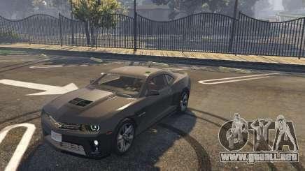 Chevrolet Camaro zl1 2013 para GTA 5