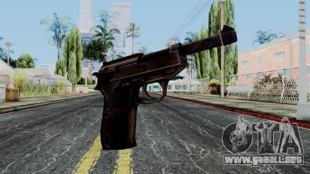 Walther P38 from Battlefield 1942 para GTA San Andreas