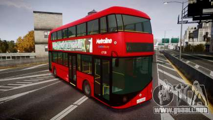 Wrightbus New Routemaster Metroline para GTA 4