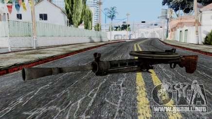 DP LMG from Battlefield 1942 para GTA San Andreas