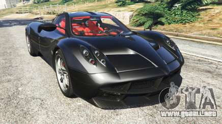 Pagani Huayra para GTA 5